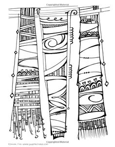 This is a page from my new Zenspirations(TM) Coloring Book: Abstract & Geometric Designs: Create, Color, Pattern, Play!: Joanne Fink: 9781574218718: Amazon.com: Books