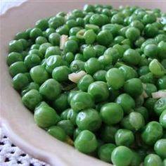 Green Pea Side Dish