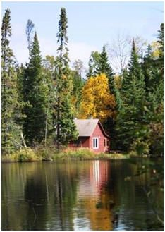 Free Cabin Plans: Getaways, Camping, Fishing and Hunting Bunk Houses, Log Homes, Guest Cabins and More.
