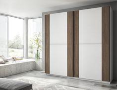 Pros y contras de los armarios con puertas correderas - http://www.decoora.com/pros-contras-los-armarios-puertas-correderas/