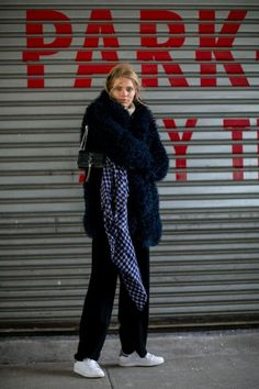 Incredible Model Street Style Outfits From New York Fashion Week   StyleCaster