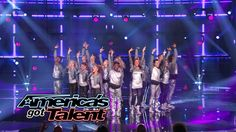 Extreme: Dance Group Sparkles On Stage - America's Got Talent 2014 That little girl is really good