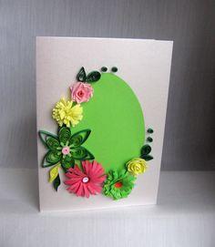 Quilling M handmade crafts and hobbies: Quilling - Felicitari Paste