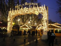 Christmas in Avignon, Provence - http://www.provenceguide.co.uk