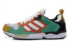 fe8870e1902d8 Hot sale Adidas ZX 5000 RSPN Lovers Schoenen M18212 - wit groen Orange
