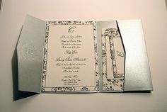 Practical and attractive wedding invitation