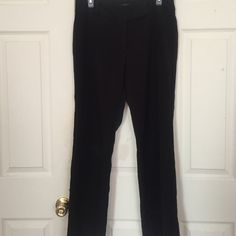 Nice condition, black slacks Black slacks that are excellent for office use. In good used condition with some wear on the very bottom of the legs. Not noticeable when worn. No longer needed for my work so am trying to get them to a new home! Rafaella Pants Trousers