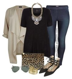 Black Jeans Khaki Statement Pieces