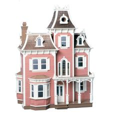 Greenleaf Beacon Hill Dollhouse Kit - 1 Inch Scale - 8002