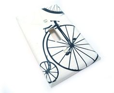 Bicycle light switch cover  vintage black & by summittdesigns, $11.50