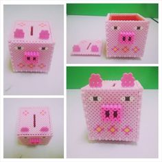 This 3D style beaded piggy bank is lovely for your princess. Gift it to her and she is sure to get pleased with it.