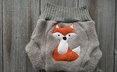 BabyZone: 11 Woodland Nursery Ideas   Fox Diaper Cover
