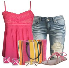 Cute Summer Outfit With Dash