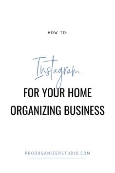 Instagram for professional organizers is a must! This post will show you exactly how to use the IG platform to market your organizing business. Business Organization, Life Organization, Organizing Life, Instagram People, Instagram Tips, Business Planning, Business Tips, Business Professional, Professional Organizers