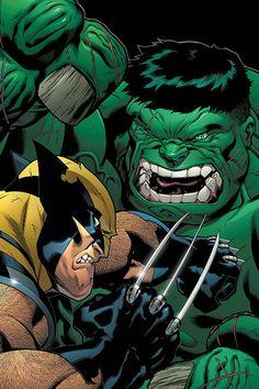 #Hulk #Fan #Art. (World War Hulk: X-Men Vol.1 #2 Cover) By: Ed McGuinness. ÅWESOMENESS!!!™ ÅÅÅ+