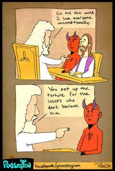 Atheist Jack — via Pixelegion Atheist Agnostic, Atheist Humor, Atheist Quotes, Atheist Beliefs, Crazy Funny Memes, Funny Relatable Memes, The Funny, Losing My Religion, Anti Religion