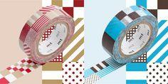 Mix Pattern MT Washi Tape Japanese - NEW Washi Tape - Japanese Washi Tape