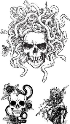 Skull Tattoos For Girls | Hairstyles & Haircuts for Men & Women