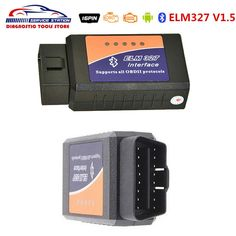 [Visit to Buy] ELM327 Bluetooth V1.5 High Quality Firmware V1.5 ELM327 Bluetooth for Android Torque OBD2 Diagnostic ELM 327 Free Shipping #Advertisement