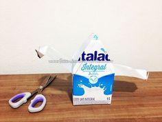 Passo 6 - Como fazer casinha de passarinho com caixa de leite