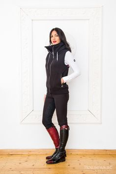 Horseware Platinum Collection A/W15: Serena fleece  gilet | Siena ladies breeches
