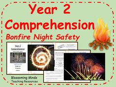 This resource is a comprehension activity for year There are three differentiated booklets on Bonfire Night safety, which covers how to handle sparklers. Bonfire Night Ks1, Bonfire Night Safety, Bonfire Night Guy Fawkes, Firework Safety, Key Stage 1, Comprehension Activities, Year 2, Autumn, Fall