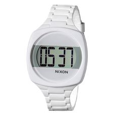 f14a2149a Nixon Dash Watch – Women's White, One Size Unusual Watches, Cool Watches