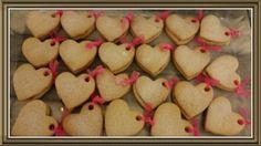 Kurdele tedayli kalpli kurabiyeler