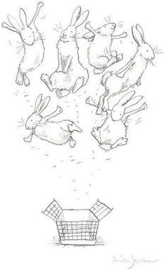 Win the art that's helping to end factory farming Bunny Drawing, Bunny Art, Animal Drawings, Art Drawings, Hare Illustration, Building Illustration, Anita Jeram, White Rabbits, Rabbit Art