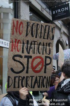 Byron Burger Deportation Protest