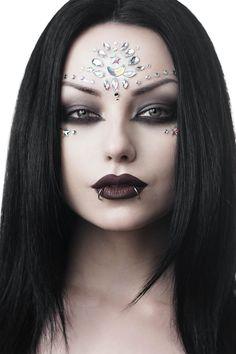 Queen Makeup, Fx Makeup, Beauty Makeup, Evil Makeup, Face Paint Makeup, Makeup Eyes, Halloween Makeup Witch, Halloween Kostüm, Looks Kawaii