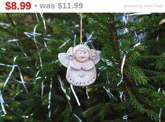Christmas guardian angel ornament Wall decor Xmas by syvenir3dnru