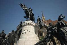 Matthias Corvinus  (23 February 1443 – 6 April 1490), also called the Just in folk tales, was King of Hungary (as Matthias I) and Croatia from 1458, at the age of 14 until his Death. Under the monument