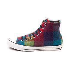 Converse Chuck Taylor All Star Hi Woolrich Sneaker--red yellow blue a5478ac88