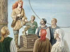 charlotte-de-berry-famous-female-pirate - of course she had red hair