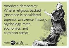 religious backed ignorance