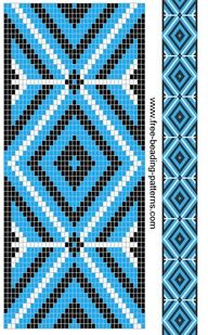 20 Native American Beadwork Patterns, Don't you love free beadwork patterns? Who doesn't - especially when they are organized based on the stitch type and created by some of the top na. Beading Patterns Free, Seed Bead Patterns, Peyote Patterns, Weaving Patterns, Stitch Patterns, Beading Ideas, Beading Supplies, Bracelet Patterns, Indian Beadwork