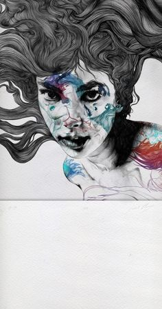 Iris 2012 Gabriel Moreno's Illustrations