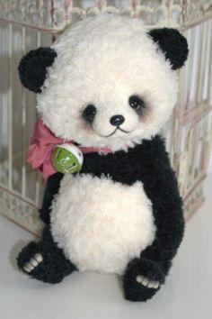 Panda Jo She By Olga Schlegel - Bear Pile