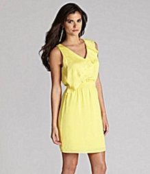 aa772489f7b3 fit cute.. dillards my-style Yellow Dress Summer