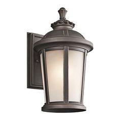 Kichler Lighting 494 1 Light Ralston Outdoor Wall Sconce
