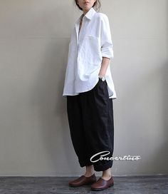 Plus Size Pants Black Pants Loose Pants Oversize Pants Casual Pants