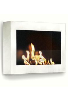 High-style, Contemporary Stainless Steel Bio-fuel Wall Mount Fireplace Ventless, needs no chimney, no gas or electrical hook-up Mounts on virtually any wall surface High Gloss White, Ethanol Fireplace, Wall, Wall Mount Fireplace, Home Decor Styles, Wall Mount, Contemporary Fireplace, Contemporary, Fireplace