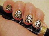 gotta love cheeta print #Artsandcrafts