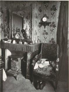 ca 1910, Paris Interior by Eugène Atget