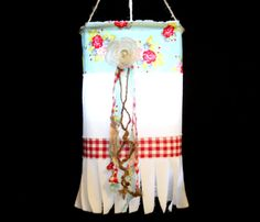 Party Lantern | Party Decor | Party Light | Birthday Party | Tea Light Holder | Tealight Lantern | Candle | WHITE Muslin Teal and Red Check