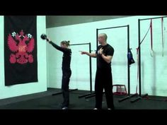 RKC kettlebell training - the swing and snatch