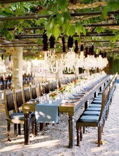 Vineyard wedding is a must