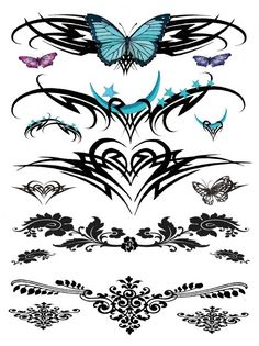 Lower back tattoo designs | tattoos picture lower back tattoo