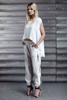 Elegant Minimalism Catalogs - The Jay Ahr Resort 2014 Lookbook Showcases Effortless Sophistication (GALLERY)